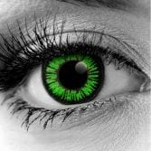 Vampfangs - Green Colormax Contact Lenses - Halloween Vampire Contacts - Trusted Since 1993
