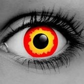 Vampfangs - Fire - Contact Lenses - Halloween Vampire Contacts - Trusted Since 1993