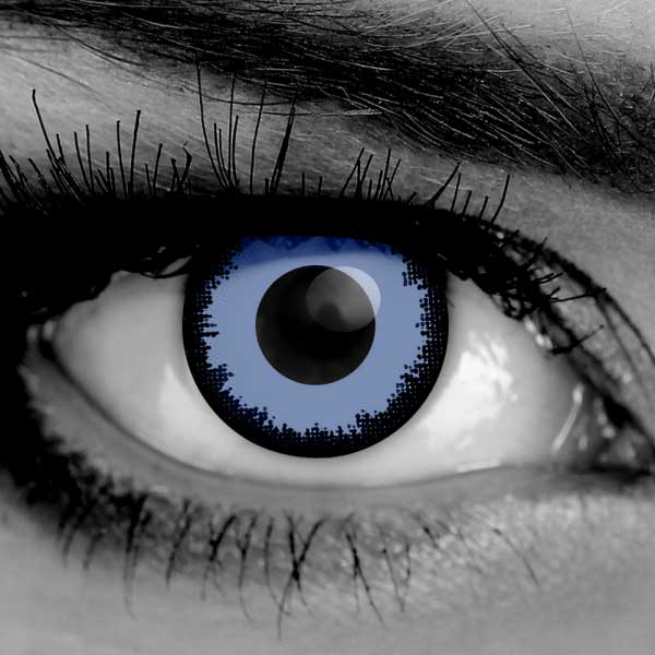Blue Contact Lenses - Vampfangs - Lestat Contact Lenses - Halloween Vampire Contacts - Corrective Options - Trusted Since 1993