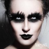 Vampfangs - White Out Zombie Halloween Contact Lenses