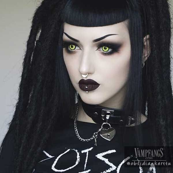 Vampfangs obsidiankerttu louis contact lenses halloween