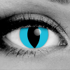 Blue Cheshire Cat Eye Contact Lenses by GOTHIKA - Vampfangs