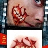 Vampfangs - Tinsley - 3d transfers - Cheek Decay