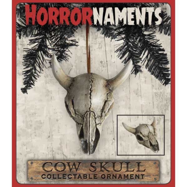 Vampfangs - GIFT- ORNAMENT - COW SKULL