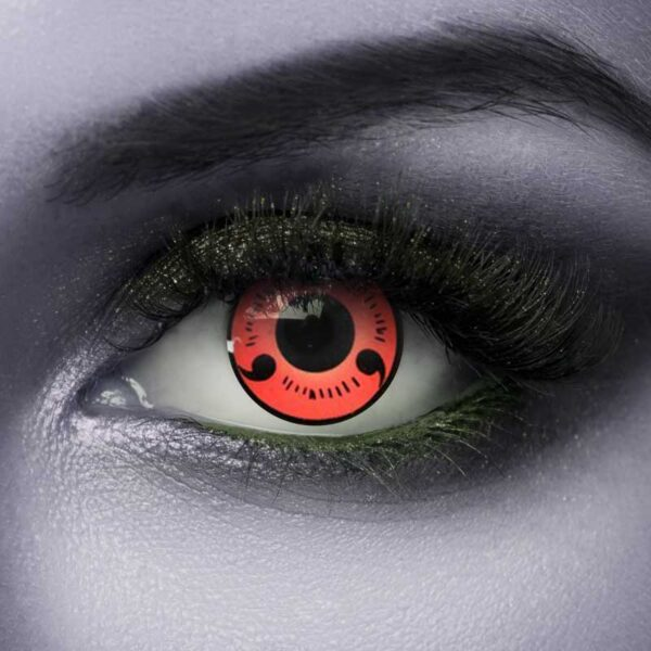 Vampfangs Red Hatake Halloween contact lenses