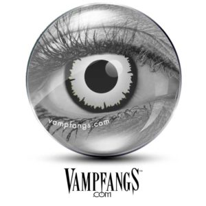 Angelic White Contact Lenses - Vampfangs