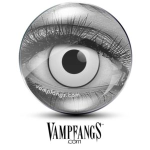 White Manson Contact Lenses - Vampfangs