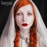 vampfangs custom white zombie undead contact lenses gothika