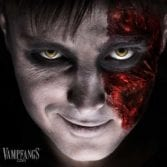 vampfangs yellow zombie undead contact lenses